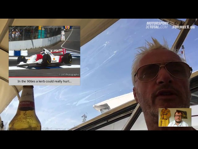 A Drink With Eddie Irvine, Episode 12 (About the problem of DRS and cars not breaking)