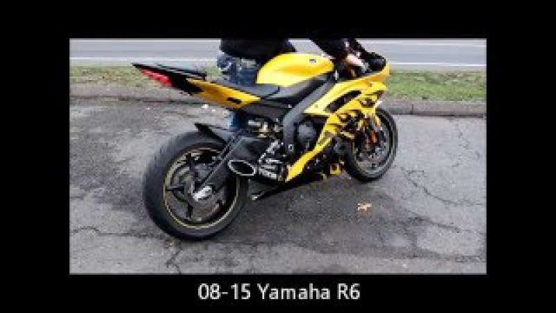 Toce Performance Yamaha R6 sound clip