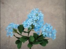 How To Make Plumbago Auriculata Flower From Crepe Paper Craft Tutorial