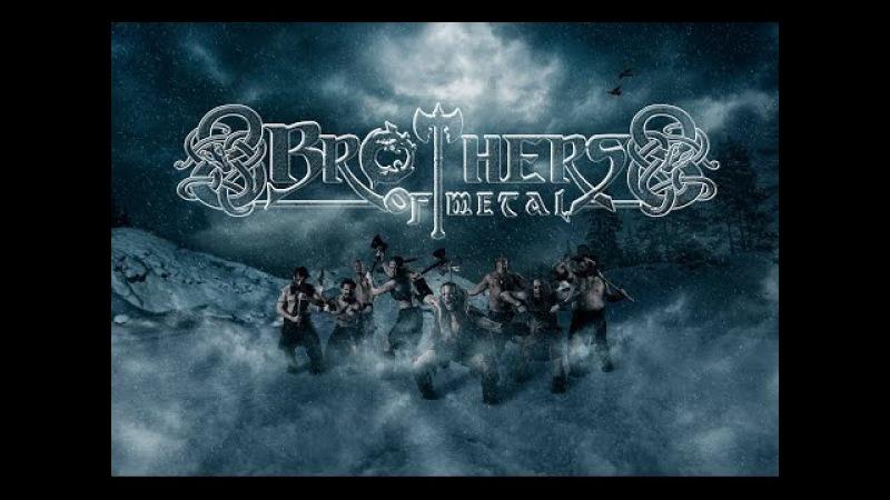 Brothers of Metal Prophecy of Ragnarök Lyric Video