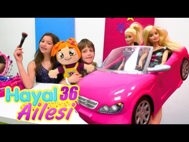 çocukdizisi Hayal Ailesi Adrian Liliye Barbie arabası alıyor. Aile oyunu Türkçe izle!