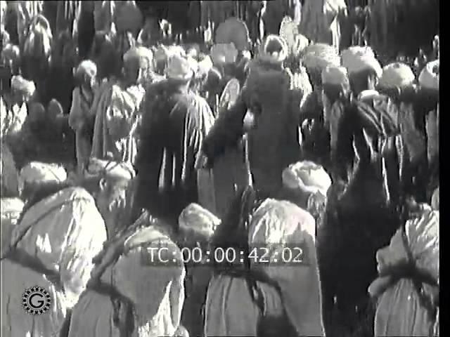 DANSES FOLKLORIQUES DES GUERRIERS TASKIOUINE - 1959 -