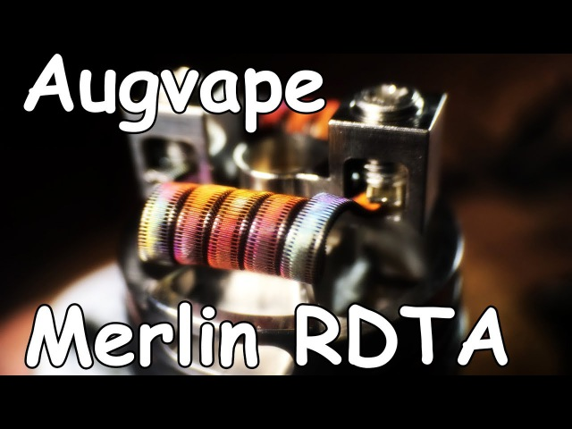 Merlin RDTA by Augvape || С заботой о билдерах