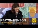 Keaton Henson The Pugilist in the NP Music studio