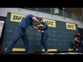 UFC 210 Open Workouts: Anthony 'Rumble' Johnson