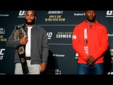 UFC 210 Media Day Staredowns (with commentary)