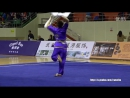 2016 Национальны Чемпионат Китая по ушу традиционный стили парные шуан гоу 5 место