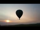 отличный подарок на день рождения- полет на воздушном шаре! спасибо огромное маме и папе))
