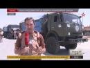 Российские военные доставили гуманитарную помощь в зону деэскалации в Восточной Гуте