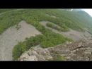 Мой 33й прыжок. 😁Бровничи,скала Замок Принцессы 👸🏻 Самый крутой природный объект высотой 90м😱😻❤️