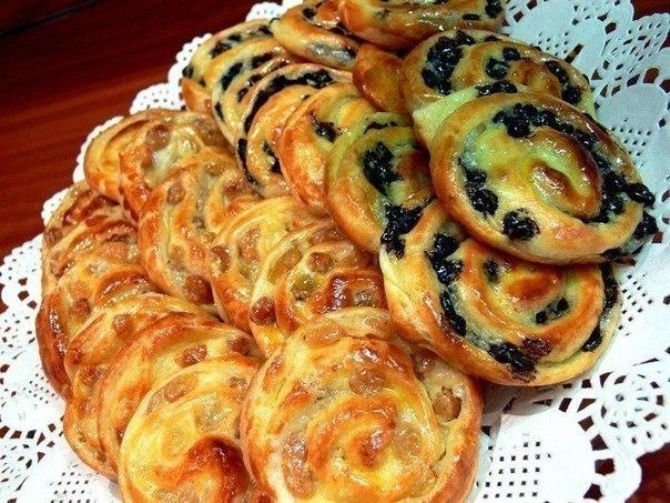 Французские булочки. Рецепт простой , вкус потрясающий, а