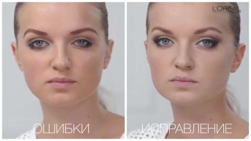 Визажисты L'Oréal расскажут как исправить ошибки макияжа для опущенного века
