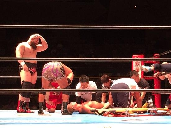 Post image of Томоаки Хонма получил серьёзную травму