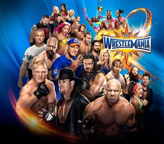 Post image of WWE WrestleMania 33— обновлённый кард шоу