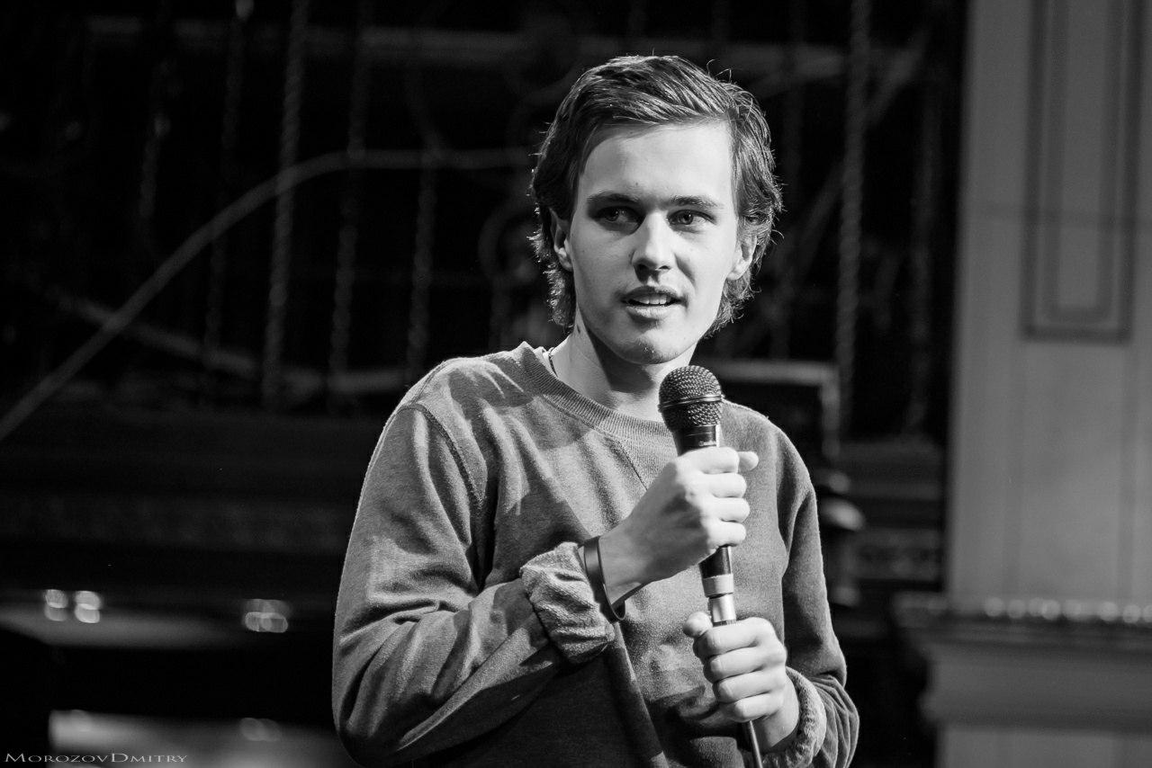 Настоящий стендап: Интервью для Настоящего стендапа: Александр Долгополов,  2017