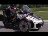 Полицейский трицикл.Can Am Spyder F3 P