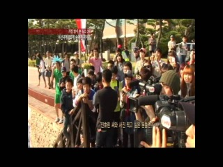 [tvN enews] 장근석, 팬과 19금 키스? 부산영화제 끝나지 않은 뒷이야기