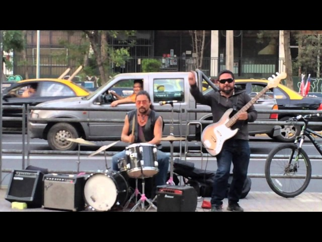 Street artists: Highway star (Deep Purple cover)