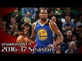 Kevin Durant Full Highlights 2016.12.08 at Jazz - 21 Pts, 11 Rebs, 4 Ast, 2 Blks.