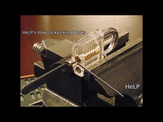 30 Closeup On How Lock Picking Works