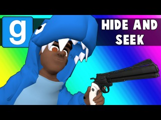 Gmod Hide and Seek - Dinosaurs are Back! (Garry's Mod Funny Moments)