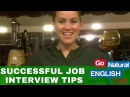 Go Natural English - ESL Lesson - Successful Job Interview Tips and Ideas of What NOT to Say