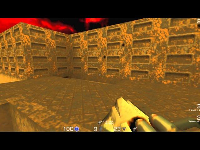 Quake 2 Deathmatch - Damiah vs. Purri - EDL 12 Regular Season