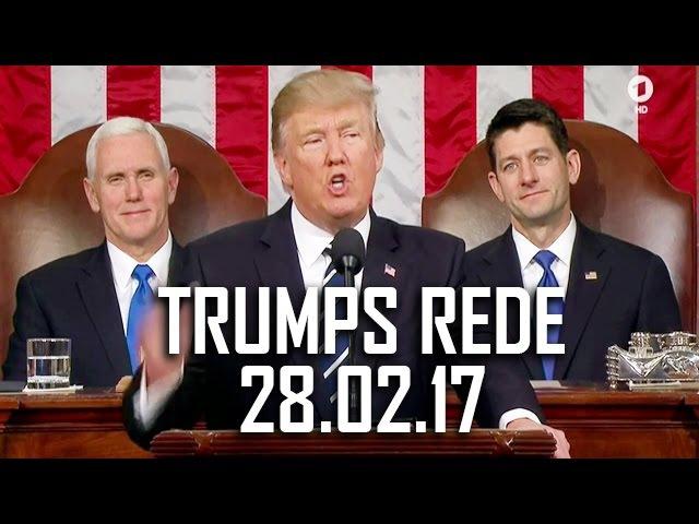 Auf Deutsch: Trumps Kongreß-Rede (28.02.2017) - Bester US-Präsident ever?!