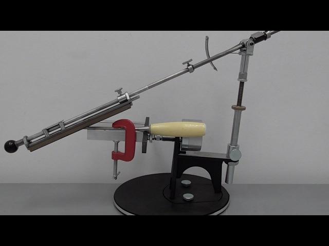 Предметный столик к Профиль К-02. Заточка топора и стамески.