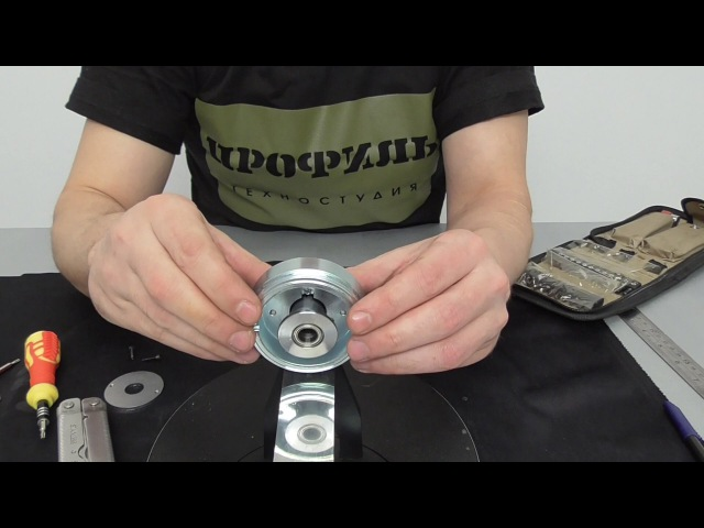 Как решить проблему люфта? Полная разборка и сборка Профиль к-02