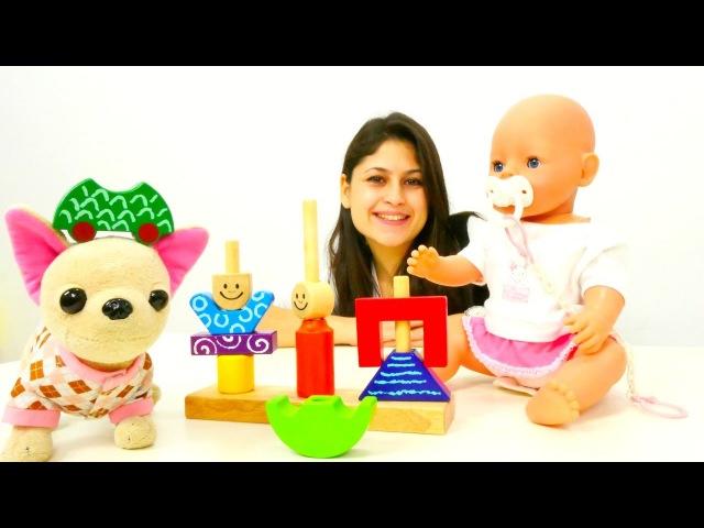Bebek bakma oyunu. Ayşe Güle ve Loliye 🐶 sürpriz yapıyor - yeni oyuncak alıyor 🎁. Kızoyuncakları