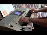 гр.Сектор Газа - Лирика  Keyboard Yamaha PSR-S700