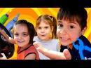 Aileoynu Fındık Ailesinin MACERALARI Araba yolda kalıyor GERCEK araba ile çocuk oyunları