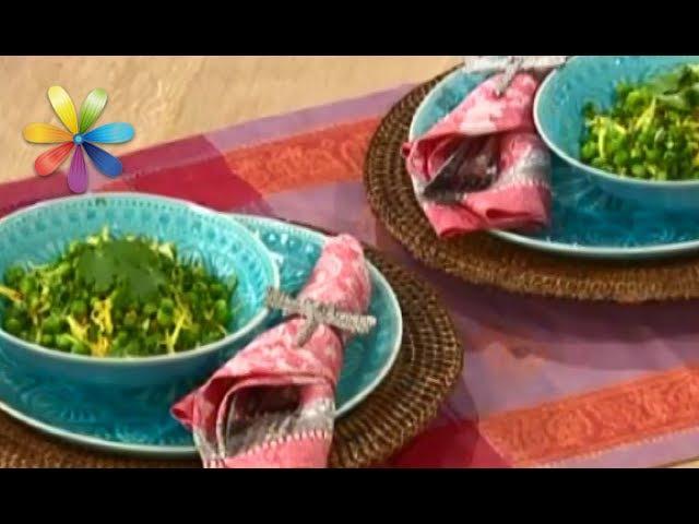 Индийское блюдо из зеленого горошка Сан Дал от Эктора Хименес-Браво (повтор)