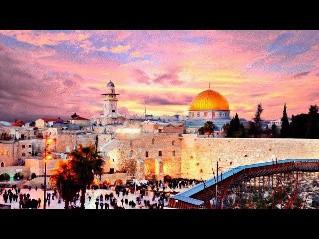 JERUSALEM   THE OLD CITY - A TRAVEL TOUR - HD 1080P