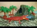 Мультик с игрушками. Крокодил вышел на охоту. Видео для детей