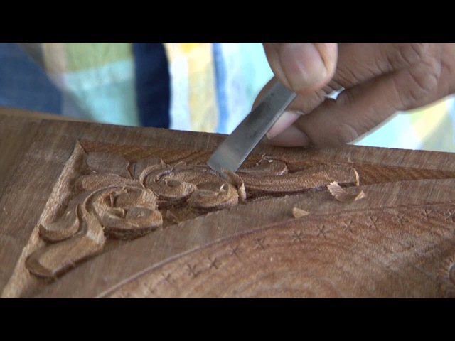 Wood Carving for Temples - Kasargod, Kerala