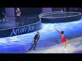 Ксения Столбова-Федор Климов, Art on Ice 2017, with James Morrison,