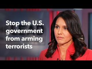Tulsi Gabbard talks about her new bill, Stop Arming Terrorists Act, on CNN