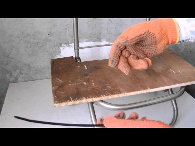 Усовершенствуем ручную тележку (без болтов и шурупов)