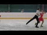 Екатерина Миронова и Евгений Устенко, Короткий танец, Первенство СПб 2017