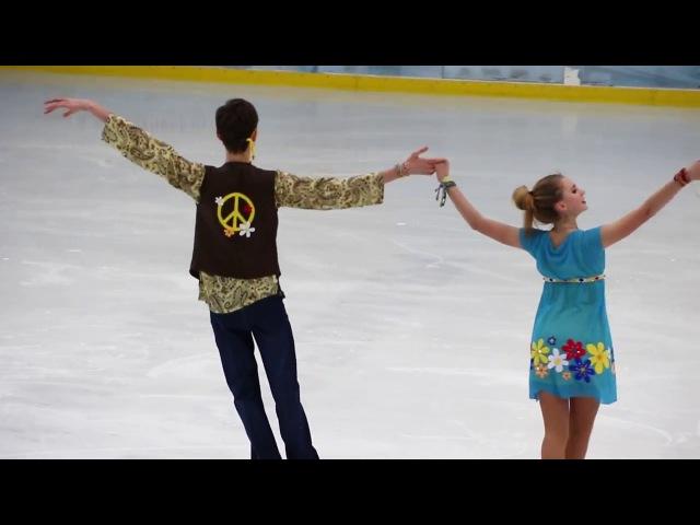 Мария КАЗАКОВА / Александр ВАСЬКОВИЧ, произвольный танец, Первенство Москвы 2017, старший возраст