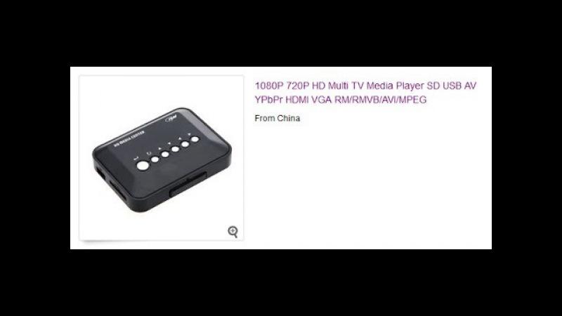 Обзор 1080P HD USB HDMI Player