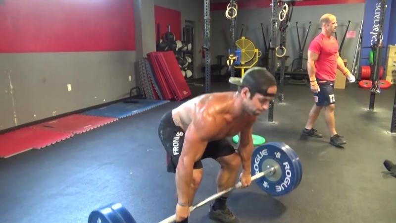Rich Froning Matt Hewett Workout Steve's Club