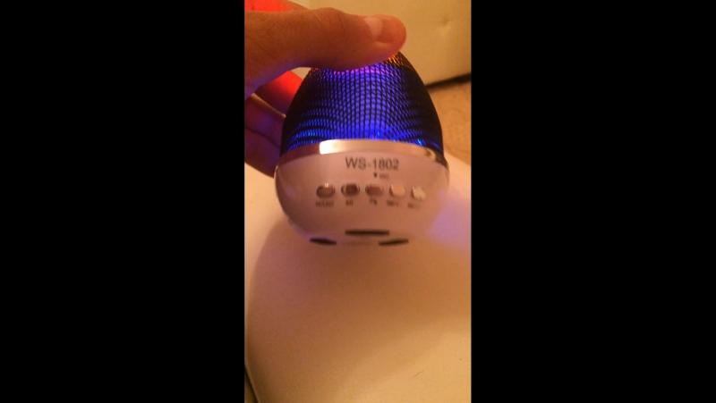 Беспроводная колонка c Bluetooth
