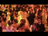Кадеты и суворовцы танцевали вальс на балу в Кремле