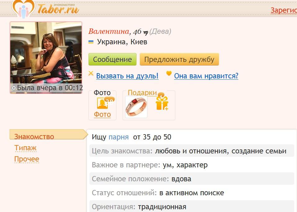 Знакомства сообщения киев