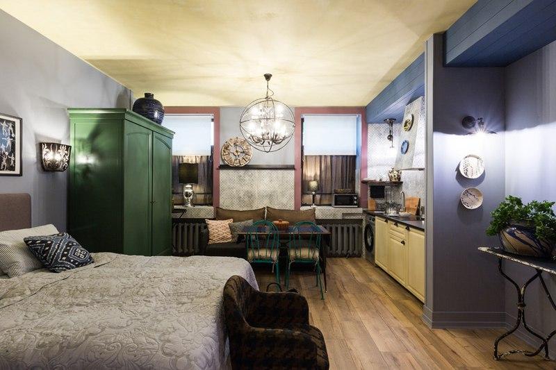 Гостевые апартаменты 32,5 м в Санкт-Петербурге.