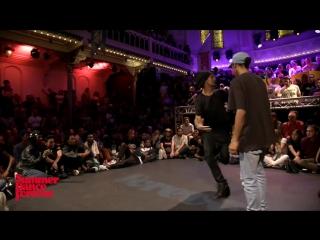 Les Twins ( Laurent ) vs Kevin Paradox - BATTLE Hiphop Forever Summer Dance Forever 2016