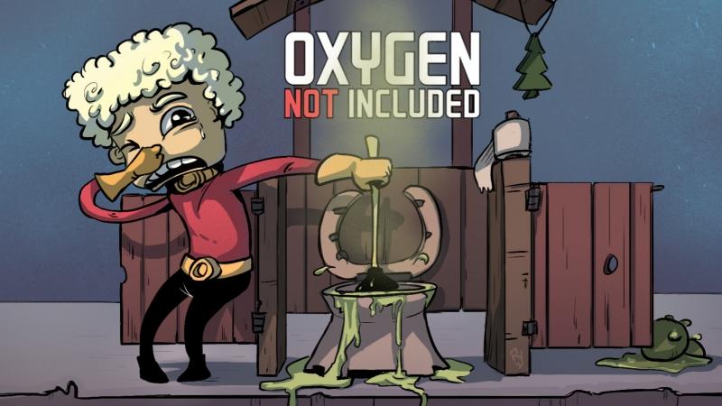 Oxygen Not Included - СИМУЛЯТОР ЖКХ